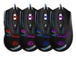Mouse Gamer X8 com led RGB 3200 DPI - B-Max - Imperium Informatica