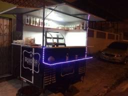 Food truck açai ou lanches