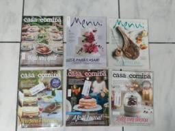 Lote Revistas Casa e Comida