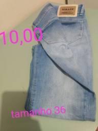 Calça jeans feminina número 36