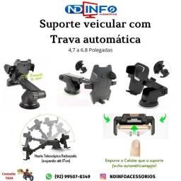 suporte veicular - suporte de celular para carro