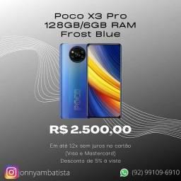 Poco X3 Pro 128GB/6GB de RAM Lacrado 12x sem juros
