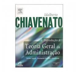 Livro Teoria Geral da Administração de Chiavenato