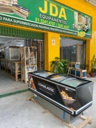 Ilha para supermercado/ padaria- freezer- para produtos congelados ou resfrigerado