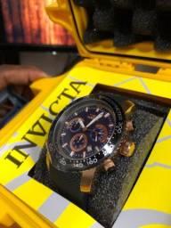 Relógio Invicta Cronograph 30775, gold and rose importado original!