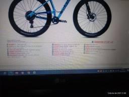 Título do anúncio: Bicicleta aro 27.5. tamanho 19. auge 527. Audax carbono
