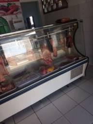 Balcão de carne expositor