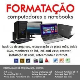 Assistencia Tecnica - Computadores / Notebooks / Celulares / Tablets