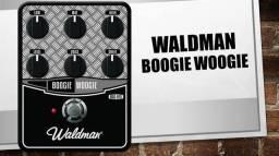 Pedal de Guitarra Boogie Woogie zerado - Distorção - com NF
