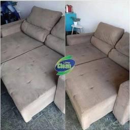 Lavagem a seco sofá