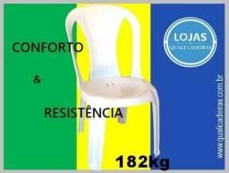 Cadeira Sofhie uso comercial , suporta 182kg