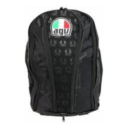Mochila Agv Itália Com Capa 100% Impermeável - somos loja, parcelamos