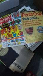 Título do anúncio: Revistas ponto cruz