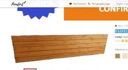 Painel de cama Penafort King Size Novo