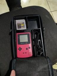 Perfeito Game Boy Color + Case + Jogo Mt Barato