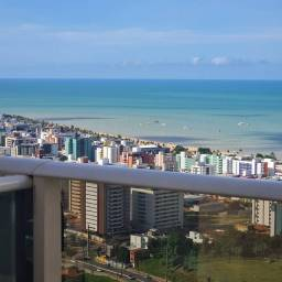 Apartamento com 92 metros, 3 quartos todos com vista definitiva para o mar