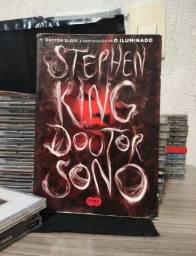"""Livro Doutor Sono de Stephen King (continuação de """"O Iluminado"""")"""