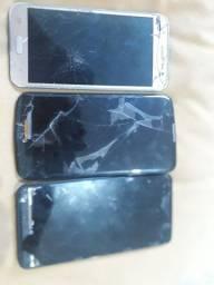 Vendo esses 3 celulares R$120,00