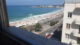 Título do anúncio: Apartamento Copacabana vista mar mobiliado
