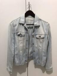 Jaqueta Jeans Marfino tam. 38 (equivale a tam. P)