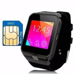 Relógio Bluetooth Smartwatch Dz09 Android Gear Chip - NOVO