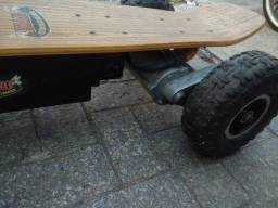 Carveboard Motorizado - Potencia de moto+Acessórios