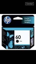 Cartucho de Impressora HP 60 preto