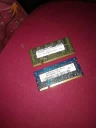 Memory de 1gb e 2gb