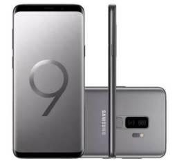 Smartphone Samsung Galaxy S9 Plus Cinza Tela Infinita