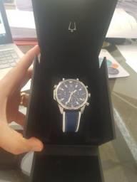 4d09920bdd8 Bulova Marine Star Blue (Azul) - Couro - relógio masculino