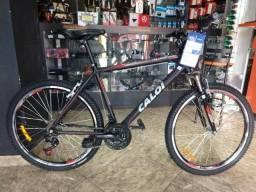 14dfd027f Bicicleta Mountain Bike Caloi Aluminum Sport - Aro 26 - Freio V-Brake - 21