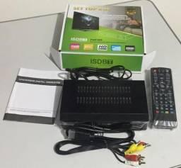 Conversor De Tv Digital Sinal Isdb-t Top Box Usb Gravador (NOVO)