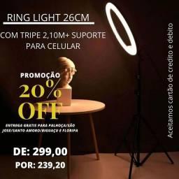 RING LIGHT PROFISSIONAL A PRONTA ENTREGA!!