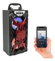Caixa De Som Portátil Bluetooth Amplificada Top