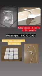 Fones de ouvido iPhone/Android e adaptadores para iPhone