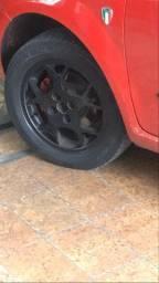 Vendo ou troco rodas de liga leve Fiat furacão 4x100