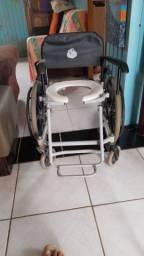 Cadeira de banho +andador
