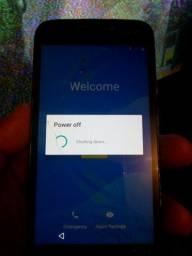 Moto g4 ao ligar fica nessa tela depois desliga