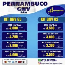 Instalação de kit GNV ( homologado Inmetro )