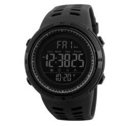 Relógio Masculino Skmei Digital 1251 ? Preto<br><br>SKU: 11709<br><br>Resistente à Àgua