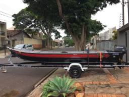 Barco Fluvimar e carreta volpato