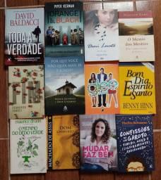 Livros diversos (preços na descrição)
