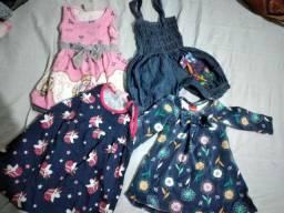 Vende-se lotinho roupas de menina
