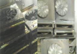 Manutenção de toda a cozinha industrial e peças