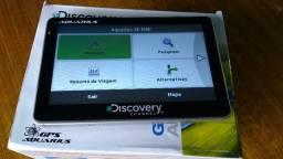 "GPS Aquarius Discovery Channel 5"" Slim TV Digital MTC 2213/01"