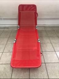 Cadeira espreguiçadeira de praia e piscina