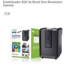 Estabilizador 500Va bivolt sms revolution speedy