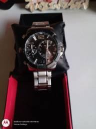 Relógio Technos Masculino Ana-digi Classic Legacy T205fk/3p<br>