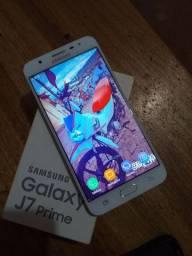 Troco Samsung J7 Prime bem conservado
