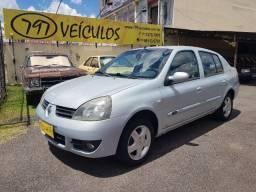 Clio Sedan Privilege 1.6 Flex 2008 - 63 mil km